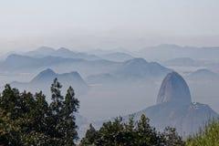 Golfe de Guanabara, Rio de Janeiro image stock
