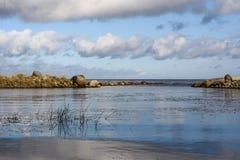 Golfe de la Finlande Photos stock