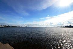 Golfe de la Finlande Photo stock