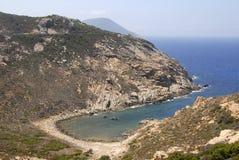 Golfe de la Revellata, Korsika, Frankreich Stockfotos