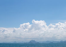 Golfe de la Thaïlande Image stock