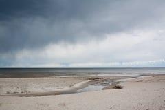 Golfe de Riga Photographie stock