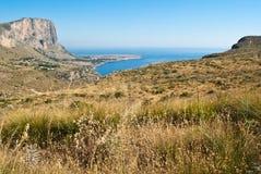 Golfe de San Vito Lo Capo en Sicile photos stock