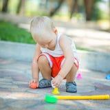 Golfe do bebê Fotografia de Stock