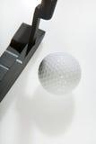 Golfe do escritório - esfera de golfe Foto de Stock Royalty Free