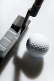 Golfe do escritório - esfera de golfe Fotografia de Stock