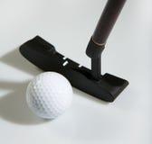 Golfe do escritório - esfera de golfe Imagem de Stock