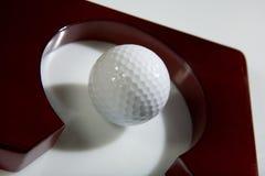 Golfe do escritório - esfera de golfe Foto de Stock