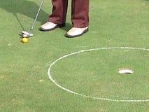 Golfe do jogador Foto de Stock