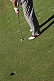 Golfe do jogo Fotos de Stock Royalty Free