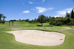Golfe do recurso Foto de Stock