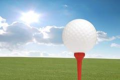 Golfe do verão Fotografia de Stock