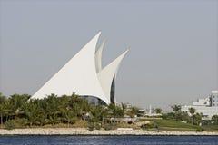 Golfe e yacht club da angra em Deira fotografia de stock royalty free
