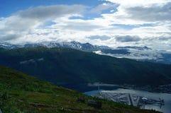 Golfe en Norvège Photos libres de droits