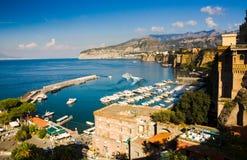 golfe Naples du nord Image libre de droits