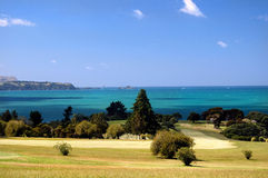 Golfe - o fairway imagem de stock royalty free