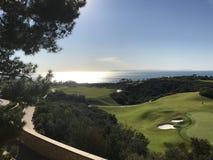 Golfe pelo mar Foto de Stock