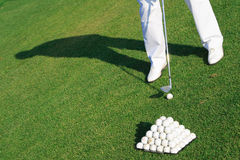Golfer Royalty Free Stock Photos