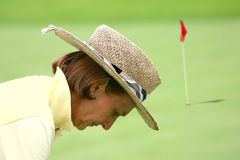 Golfer 2 Royalty Free Stock Photos