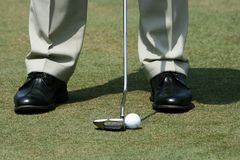 Golfer Stock Photography