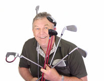 The Golfer Royalty Free Stock Photography
