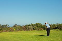 Golfer #39 Royalty Free Stock Image