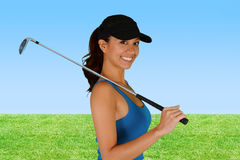 golfer imagem de stock royalty free