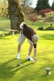 golfer fotografia de stock