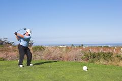 Golfer #60 stock photography