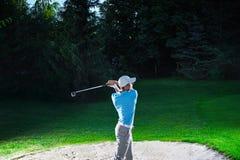 golfer imagem de stock