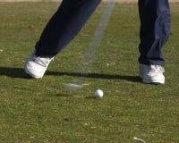 Golfer. Swing royalty free stock photos
