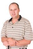 Golfer. Portrait Royalty Free Stock Image