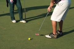 Golfer 3 Stock Images