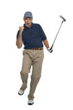 Golfer celebration Stock Image