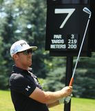 Golfer Hunter Mahan Stock Image