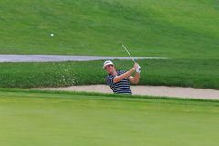 Golfer Keegan Bradley Stock Image