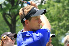 Golfer Luke Donald of Britain Royalty Free Stock Photography