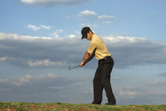 Golfer - Man Royalty Free Stock Photo