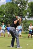 Golfer Martin Kaymer leading off Royalty Free Stock Photos
