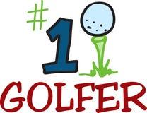 #1 Golfer Stock Photo