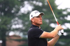 Golfer Robert Karlsson Stock Photography