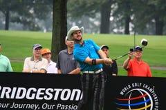 Golfer Rory Sabatini of South Africa. PGA Pro golfer Rory Sabatini of South Africa swings his driver Stock Photography