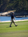 A Golfer's Stride Stock Images