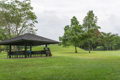 Golfer Shelter Royalty Free Stock Images