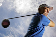 Free Golfer Shooting A Golf Ball Stock Photos - 19972023
