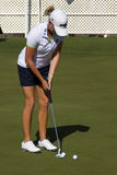 LPGA Golfer Stacy Lewis Wins In Phoenix Stock Photo