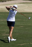 LPGA Golfer Stacy Lewis Wins In Phoenix Stock Photos