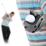 Golfer1 Royalty Free Stock Photo
