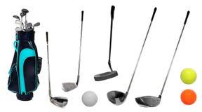 Golferfordernisse. Stockfoto
