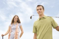 Golfers Stock Photos